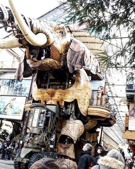 L'éléphant des machines de l'île au Nefs Nantes