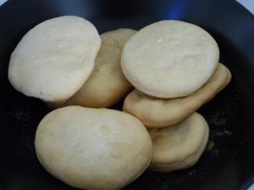 Première fournée de petits pain au lait