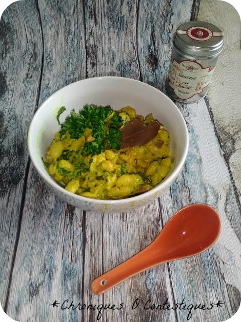 Curry de haricots blancs02
