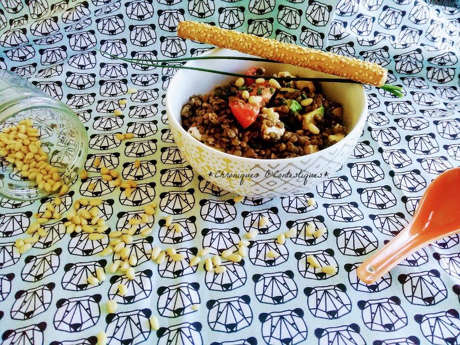 Salade de lentilles avocat feta tomates2